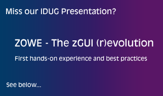 Miss our IDUG Presentation? See below