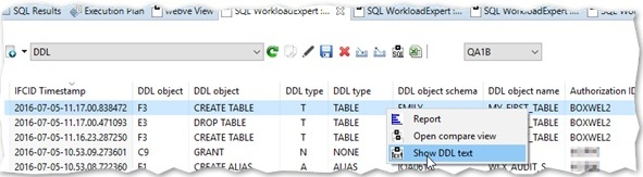 recover accidently dropped db2 zos table based on DDL extraction
